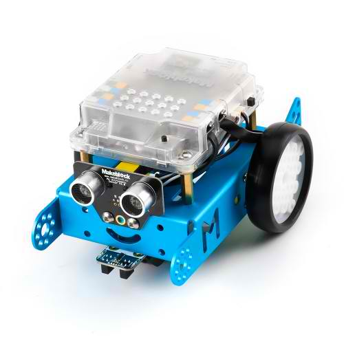 mBot Blue Front and Side View
