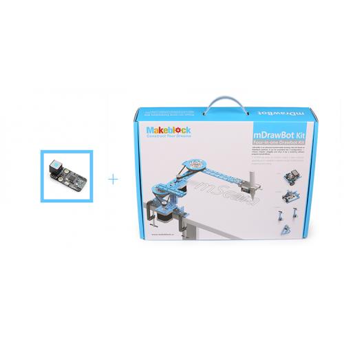 mDrawBot Blue With Bluetooth